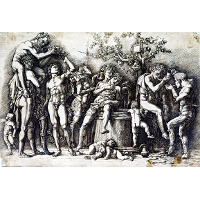 Bacchanalia with a Wine