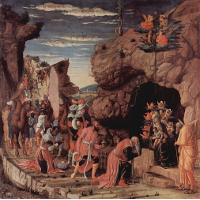 Adoration of the Magi, central panel from the Altarpiece