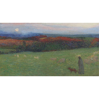 A Field with Figure