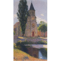 Church at Labastide du Vert