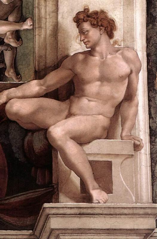 Картины Обнаженных Мужчин