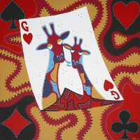 Hearts of Giraffe is Trump Card