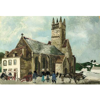 Church and Market, Brittany