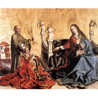 Presentation of Cardinal de Mies to the Virgin