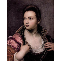 Venetian Woman (attributed)