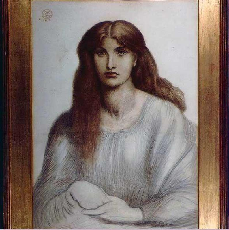 the woodspurge by dante gabriel rossetti