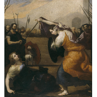 The Duel of Women (The Duel of Isabella de Carazzi and Diambra de Pettinella)