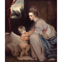 Mrs. William Beresford and her Son John, later Lord Decies