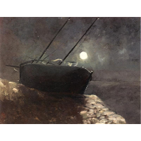 Boat in the Moonlight