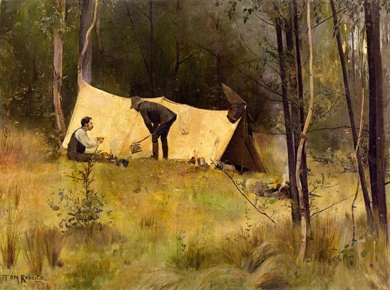 tom roberts 2 painting analysis