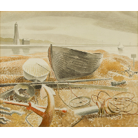 Anchor and Boats, Rye