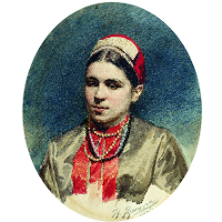 Portrait of P.Strepetova