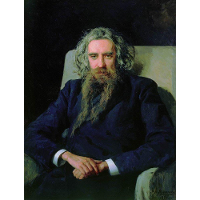 Portrait of Vladimir Solovyov