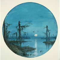 Bayou in Moonlight