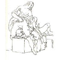 Cunnilingus, or oral sex performed on a woman