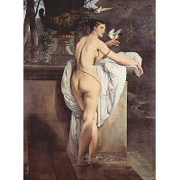 Ballerina Carlotta Chabert as Venus
