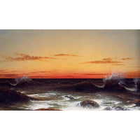 Seascape: Sunset