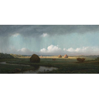 Sudden Showers, Newbury Marshes