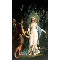 Calypso receiving Telemachus and Mentor in the Grotto