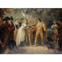 A Scene from 'As You Like It' by William Shakespeare