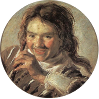 Boy holding a Flute (Hearing)
