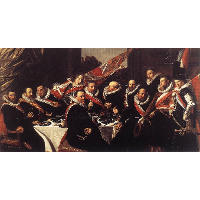 A Banquet of the Officers of the St. George Militia Company