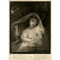 Lady Hamilton as 'Neæra'