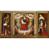 The Bourbon Altarpiece (The Moulins Triptych)