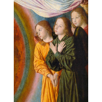The Moulins Triptych (detail)