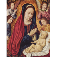 The Virgin and Child Adored by Angels