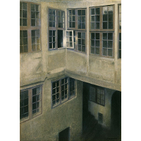 Interior of Courtyard, Strandgade 30