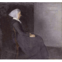 Frederikke Hammershøi, the artist's mother