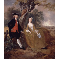 An Unknown Couple in a Landscape