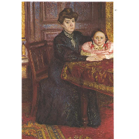 Double portrait of Matilda and Gertrude Schonberg