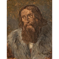 Portrait of a Bearded Man (Head of an Apostle?)