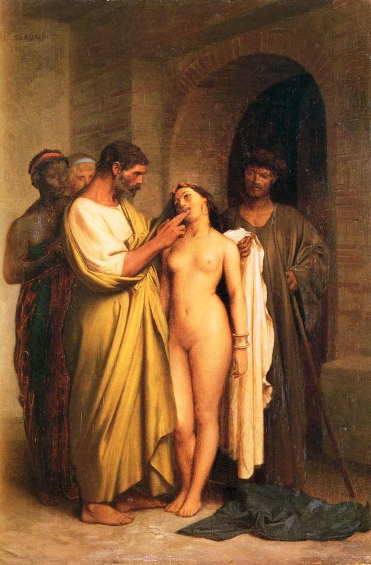 Купить картину или постер Purchase of a Slave вы можете на нату