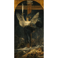 Archangel, study for the Foundation of Faith