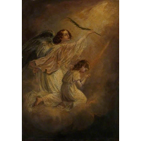 Angel with a Child