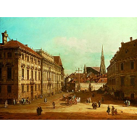 A view of the Lobkowicz Palace in Vienna