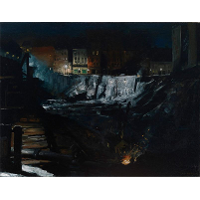 Excavation at Night
