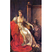 Portrait of Elisa Bonaparte, Grand Duchess of Tuscany