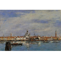 The Giudecca from The Zatteri, Venice