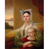 Mrs. David Steele Lamme and Son, William Wirt