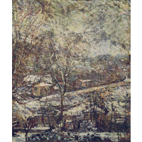 Landscape in wintertime