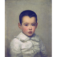 Pierre Bracquemond as child