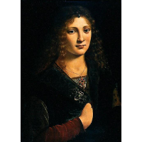 Portrait alleged to be of Anne Whateley (in fact likely to be Girolamo Casio)