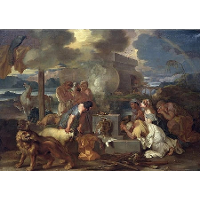 Sacrifice of Noah