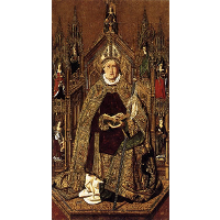 St Dominic Enthroned in Glory