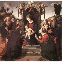 Mystical Marriage of St. Catherine of Alexandria
