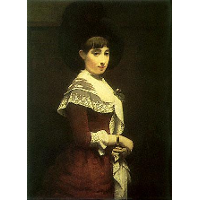 Portrait of a young Jewish woman